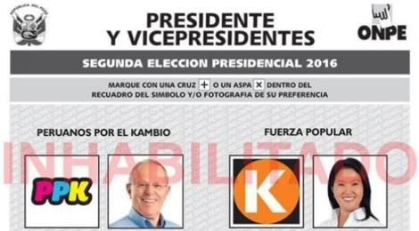 + Perú: ¿Keiko Fujimori o Pedro PabloKuczynski?